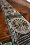 Орнамент старого изображения деревянный Стоковое фото RF