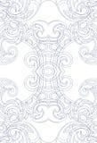 Орнамент стиля Nouveau искусства Стоковые Изображения RF