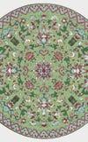 Орнамент традиционного китайския Grunge флористический Стоковая Фотография RF