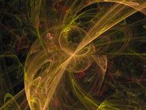 Орнамент фантазии абстрактного цифрового twirl шума потока декоративный мечт, дисплей формы влияния стоковое изображение rf