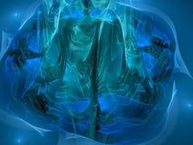 Орнамент фантазии абстрактной цифровой плиты плена twirl шума потока er мечт, дисплей формы влияния стоковая фотография rf