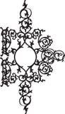 орнамент фантазии флористический Стоковые Изображения