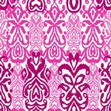 Орнамент фольклора картины безшовный Племенная этническая текстура вектора Striped щетка в ацтекском стиле Диаграмма племенная вы иллюстрация вектора