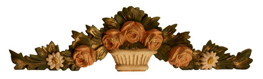 орнамент цветка украшения Стоковое фото RF