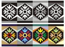 орнамент цветка фантазии стоковые фотографии rf