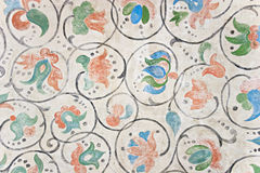 орнамент цветка Стоковые Фото