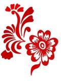 орнамент цветка иллюстрация штока