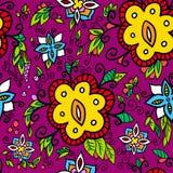 орнамент цветка baskground Стоковая Фотография