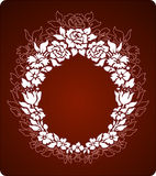орнамент цветков Стоковое Изображение RF
