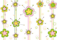 орнамент цветков Стоковые Изображения