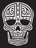 Орнамент черепа Стоковое фото RF