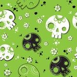 Орнамент черепов Стоковая Фотография RF