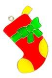 Орнамент чулка рождества Стоковое Изображение RF