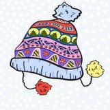 Орнамент шляпы стоковые фото