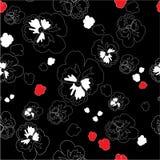 орнамент 03 цветов безшовный Стоковое Изображение