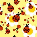 орнамент 05 цветов безшовный Стоковая Фотография RF