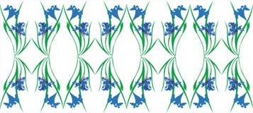 орнамент 05 цветов Стоковая Фотография