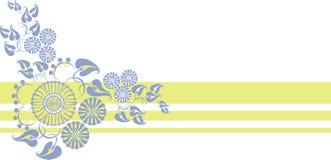 орнамент 09 цветов Стоковые Изображения RF