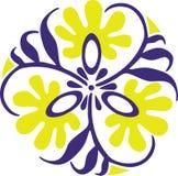 орнамент 13 цветов Стоковая Фотография