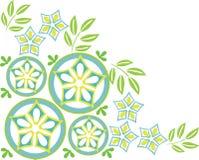 орнамент 14 цветов иллюстрация штока