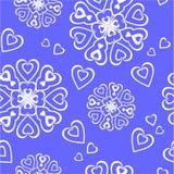 орнамент 75 цветов безшовный Стоковая Фотография RF
