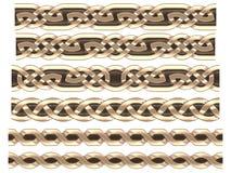 Орнамент Celtic золота Стоковые Изображения RF