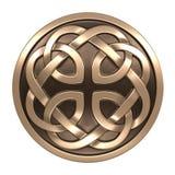 Орнамент Celtic золота Стоковая Фотография RF