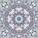 Орнамент mehndi Tracery этнический Равнодушный небезрассудный утихомиривая мотив, годный к употреблению doodling красочный гармон Стоковое Изображение RF