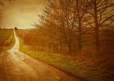 дорога безграничности к Стоковая Фотография