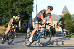 дорога гонки пущи велосипедиста bike Стоковая Фотография RF