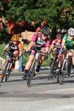 дорога гонки пущи велосипедиста bike Стоковые Изображения