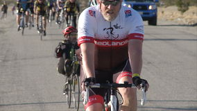 дорога гонки пущи велосипедиста bike акции видеоматериалы
