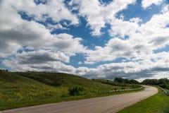 дорога гористая Стоковое Изображение RF