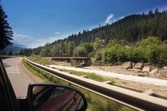 дорога гор, котор нужно задействовать Стоковое фото RF