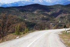 дорога гор к Стоковая Фотография RF