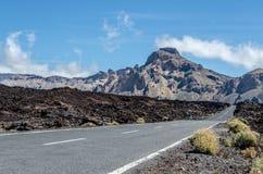 дорога гор к Стоковое Изображение RF
