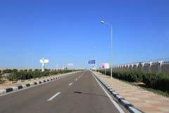 дорога Египета Стоковые Фото