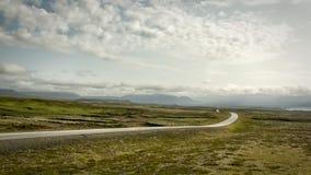 дорога Исландии Стоковая Фотография