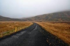 дорога Исландии Стоковое фото RF