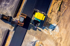 дорога конструкции новая Стоковые Фото