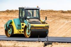 дорога конструкции новая Стоковое Фото