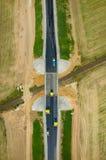 дорога конструкции новая Стоковые Изображения RF