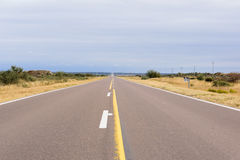 дорога конца к миру Стоковые Фото