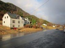 дорога Норвегии Стоковое Фото