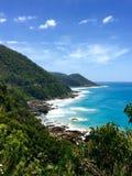 дорога океана Австралии 12 апостолов большая Стоковое Изображение
