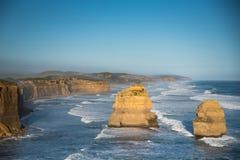 дорога 12 океана Австралии апостолов большая Стоковое Изображение RF
