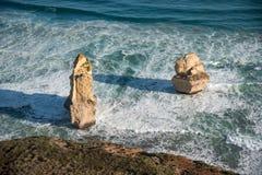 дорога 12 океана Австралии апостолов большая Стоковая Фотография RF