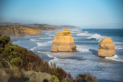 дорога 12 океана Австралии апостолов большая Стоковая Фотография