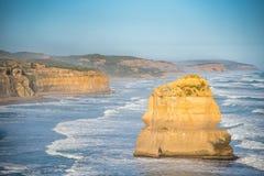 дорога 12 океана Австралии апостолов большая Стоковые Изображения RF