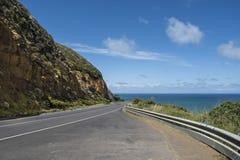 дорога океана Австралии 12 апостолов большая Стоковые Фотографии RF